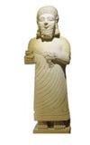 Statue of King Mutallu. Subject to Sargon II of Assyria, 1200 - 700 BCE,  Aslantepe, Malatya,  Museum of Anatolian Civilization,  Ankara, Turkey Stock Image