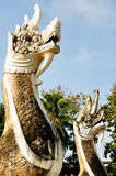 Statue of King of Nagas Royalty Free Stock Photography
