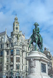 Statue of King Pedro IV, Porto, Portugal Stock Photo