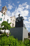 Statue of King Petar Kresimir in Sibenik Stock Image
