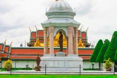 Statue of King Rama RAMA IX in Grand Palace, Landmarks of Bangko Royalty Free Stock Photos