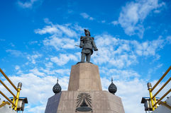 Statue of king rama v Royalty Free Stock Image