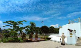 Statue of king rama v Royalty Free Stock Photos