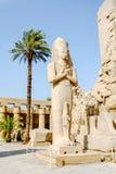 Statue of King Ramses II in Karnak temple. Luxor, Egypt. Royalty Free Stock Photos