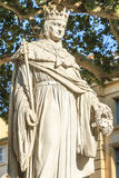 Statue of King Rene of Anjou, Aix-en-Provence. France Royalty Free Stock Image