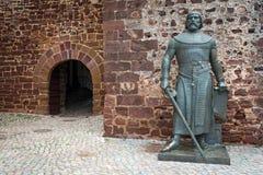 Statue of King Sancho I, Silves, Algarve Portugal Stock Image