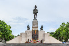 The statue of King of Siam Vajiravudh Stock Photos
