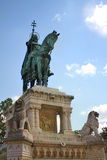 Statue of King St. Stephan, Budapest, Hungary Royalty Free Stock Photography