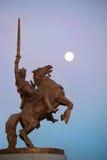 Statue of king Svatopluk Royalty Free Stock Photography