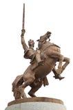 Statue of king Svatopluk Stock Image
