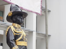 Statue of king Vajiravudh, the sixth monarch of Thailand Stock Photography