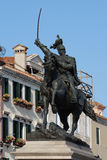 Statue of King Victor Emmanuel II in Venice, Italy Royalty Free Stock Photo