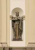Statue of King Vladimir. Stock Photos