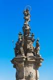 Statue in Kladno - Czech republic Stock Photos