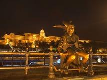 Statue kleiner Prinzessin Lizenzfreies Stockfoto