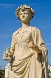 Statue am Knall-Schmerz-Palast Stockbild