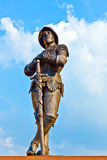 Statue of knight Hartmut zu Kronberg Stock Image