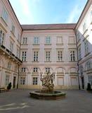 Statue of knight St. George - Bratislava Royalty Free Stock Photos