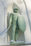 Statue of the knight Royalty Free Stock Photography