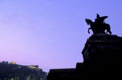 Statue- Koblenz, Germany Royalty Free Stock Image