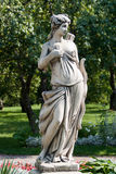 Statue at Kolomenskoye Estate in Moscow. A beautiful statue of a woman at Kolomenskoye Estate in Moscow stock photo