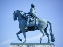 Statue in Kopenhagen Stockbild