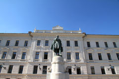 Statue of Kossuth Royalty Free Stock Photography