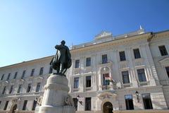 Statue of Kossuth Royalty Free Stock Photography