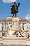 Statue of Kossuth Lajos Stock Images