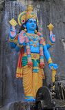 Statue of Krishna nearly Batu caves Royalty Free Stock Images