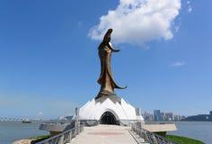 Statue of Kun Iam Stock Photography