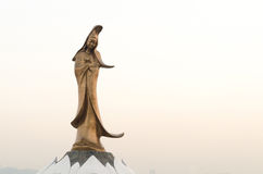 Statue of kun iam macau the goddess of mercy in china Royalty Free Stock Photo