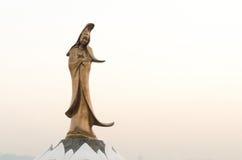 Statue of kun iam macau the goddess of mercy in china Royalty Free Stock Photo