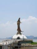Statue of Kun lam. In Macau Royalty Free Stock Photography