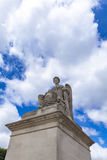 Statue L`Histoire at Place du Carrousel in Paris Royalty Free Stock Image