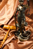 Statue of lady justice Stock Image