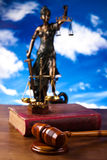 Statue of lady justice, Law concept royalty free stock photo