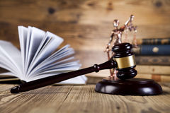 Statue of lady justice, Law concept Stock Photography