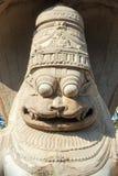 Statue of Lakshmi Narasimha at Hampi on India Royalty Free Stock Image
