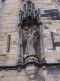 Statue on Lancaster Castle and the former Prison in England is in the Centre of the City Stock Photography