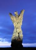 Statue in Las Palmas. Statue El Atlante in Las Palmas de Gran Canaria, Spain royalty free stock photography