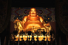 Statue of laughing Buddha Royalty Free Stock Photography