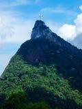 Statue le Christ le rédempteur en Rio de Janeiro photographie stock libre de droits