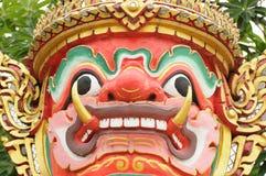Statue le géant de visage Image stock