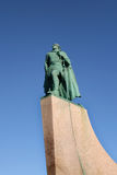 Statue of Leif Eriksson Stock Image
