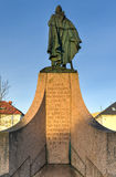 Statue of Leif Eriksson in Reykjavik, Iceland Stock Image