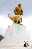 The statue of Lenin Stock Photos