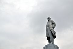 Statue of Lenin Stock Photo