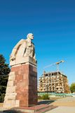 The statue of Lenin Stock Images