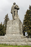 Statue of Lenin in Moscow, Russia. Royalty Free Stock Photo